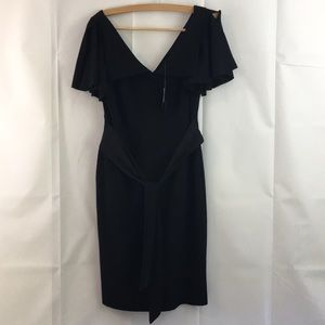 Ted Baker NWT LBD Black Dress size 4